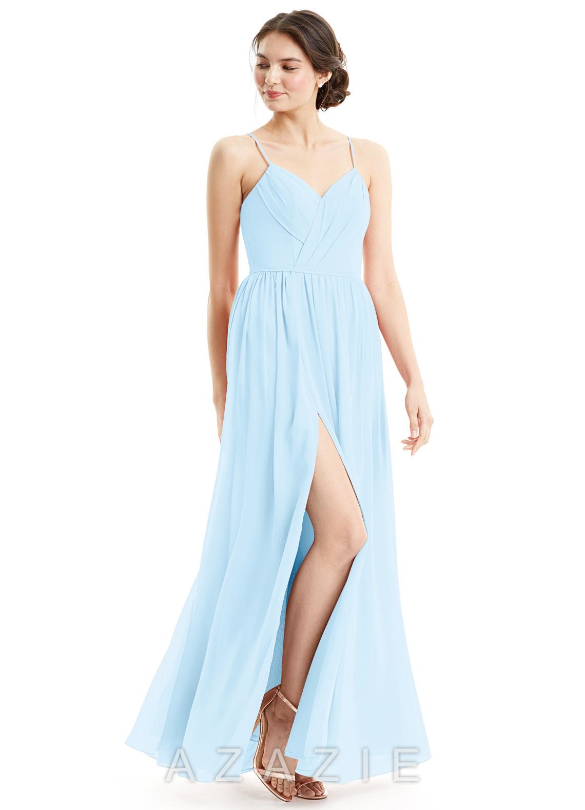Sky blue bridesmaid dresses sky blue gowns azazie azazie cora azazie cora ombrellifo Image collections