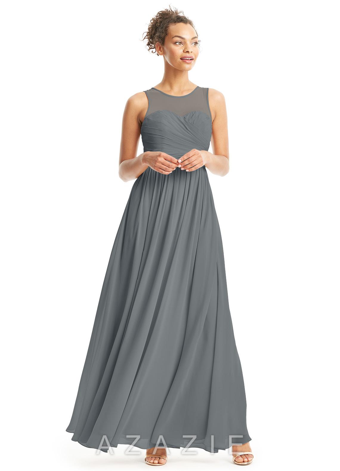 Azazie Alexis Bridesmaid Dress - Cabernet | Azazie