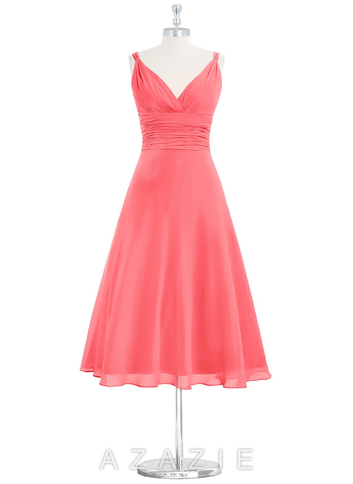 Azazie jayla bridesmaid dress azazie color watermelon ombrellifo Image collections