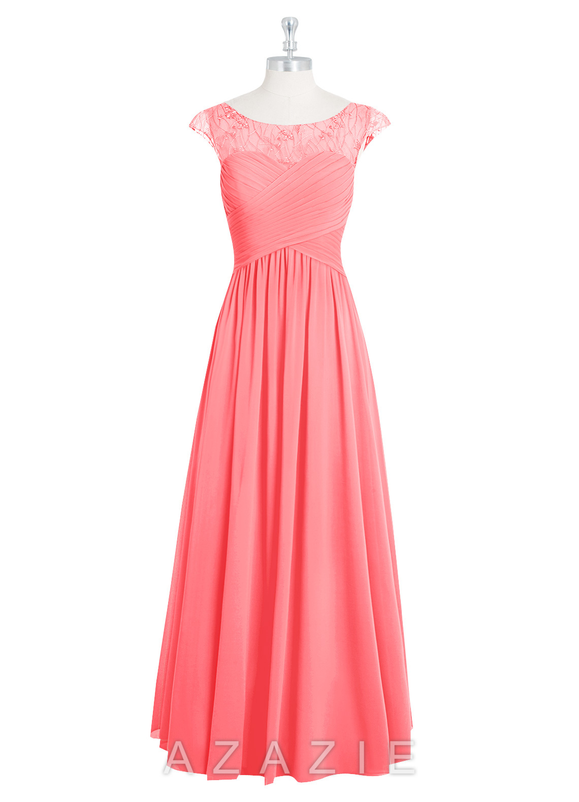 Azazie tobey bridesmaid dress azazie color watermelon ombrellifo Image collections