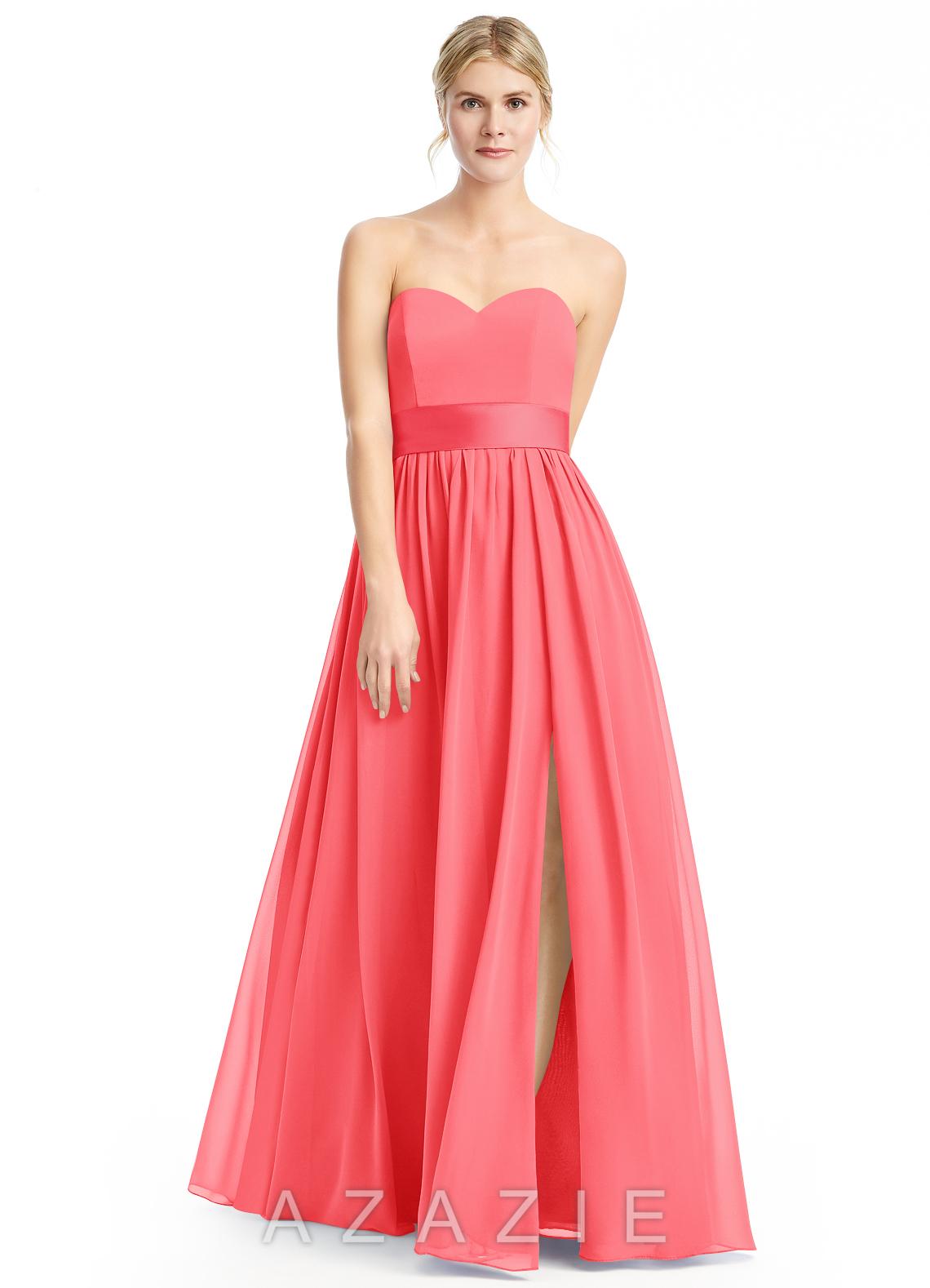 Azazie fiona bridesmaid dress azazie color watermelon ombrellifo Image collections