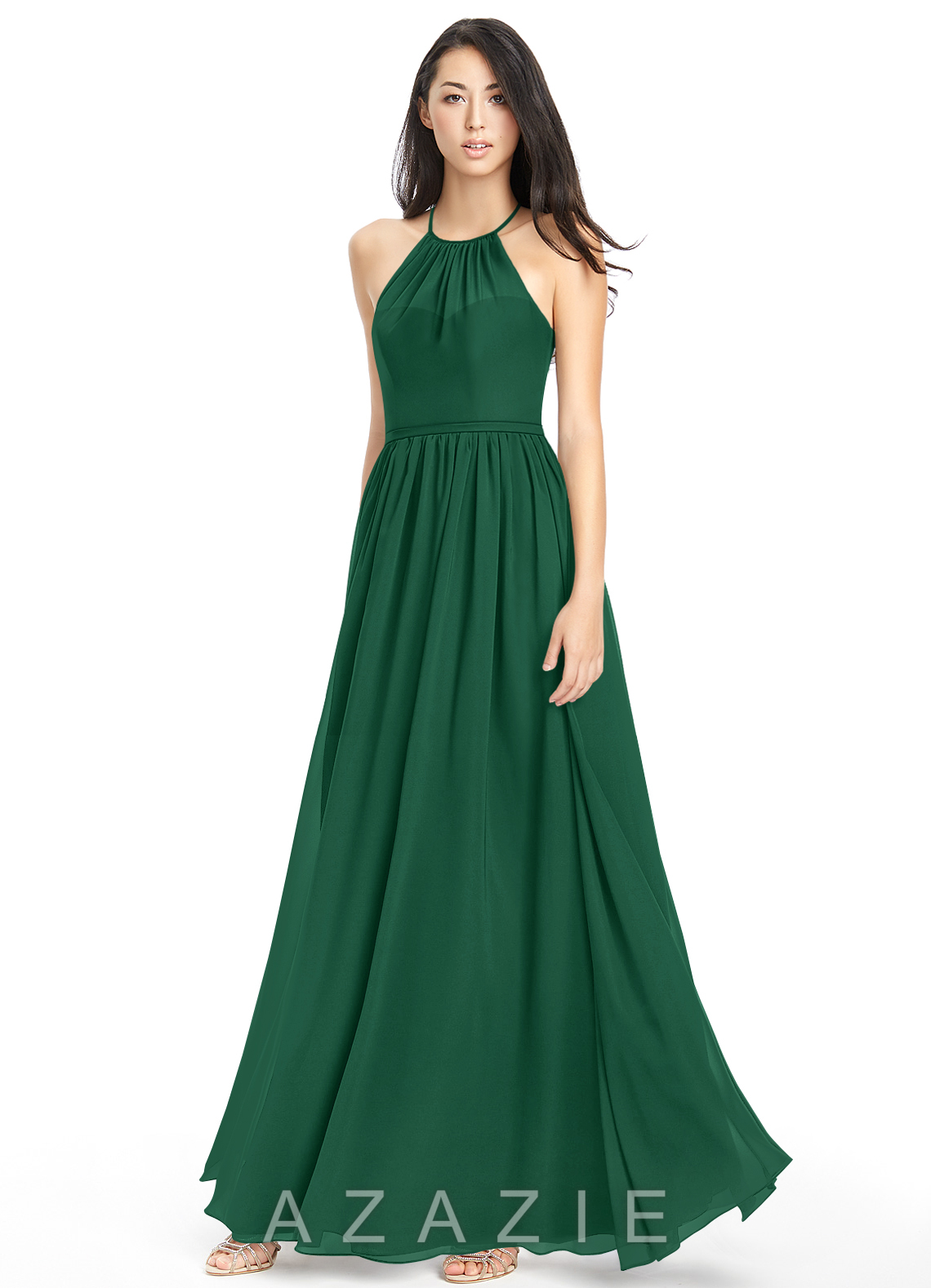 Azazie kailyn bridesmaid dress azazie color dark green ombrellifo Choice Image