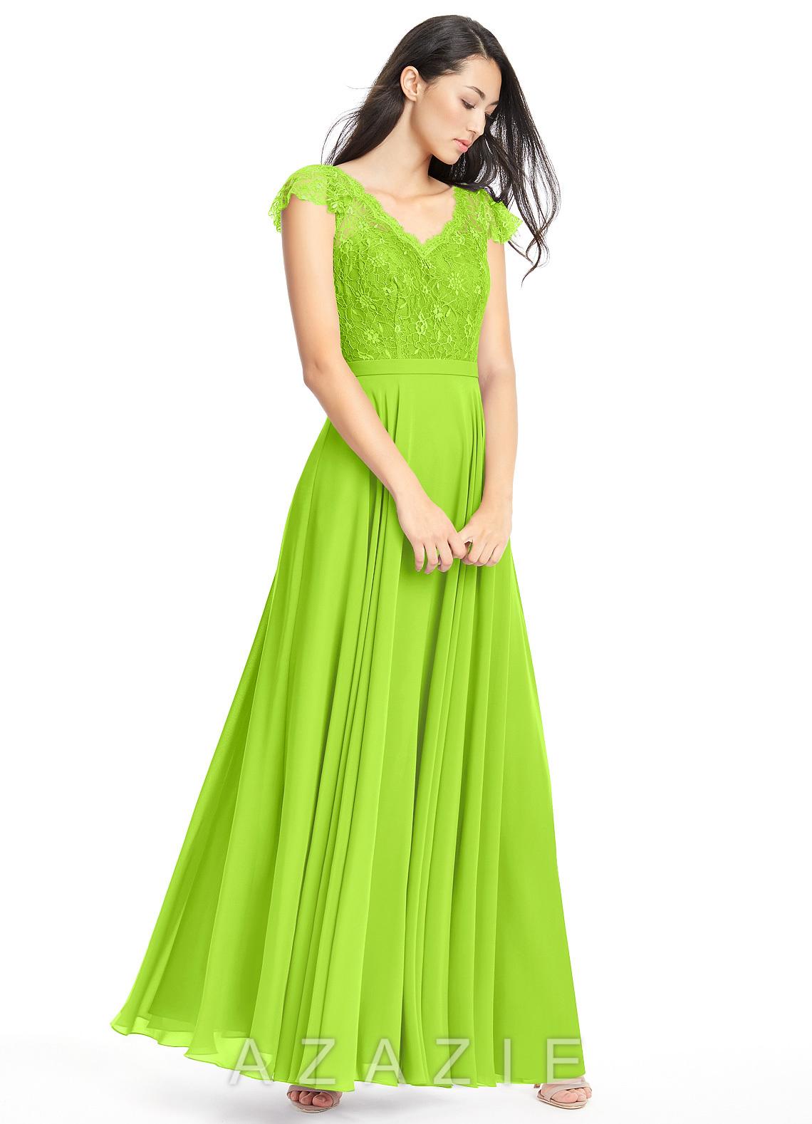 Azazie cheryl bridesmaid dress azazie color lime green ombrellifo Gallery
