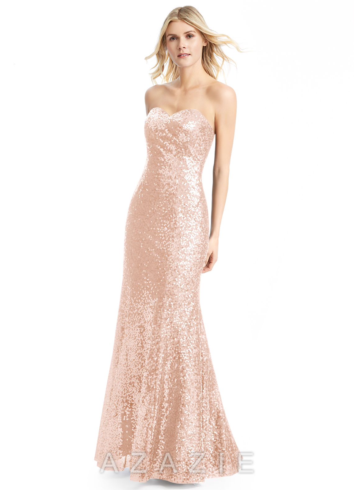 Pearl pink bridesmaid dresses pearl pink gowns azazie azazie estrella azazie estrella ombrellifo Choice Image