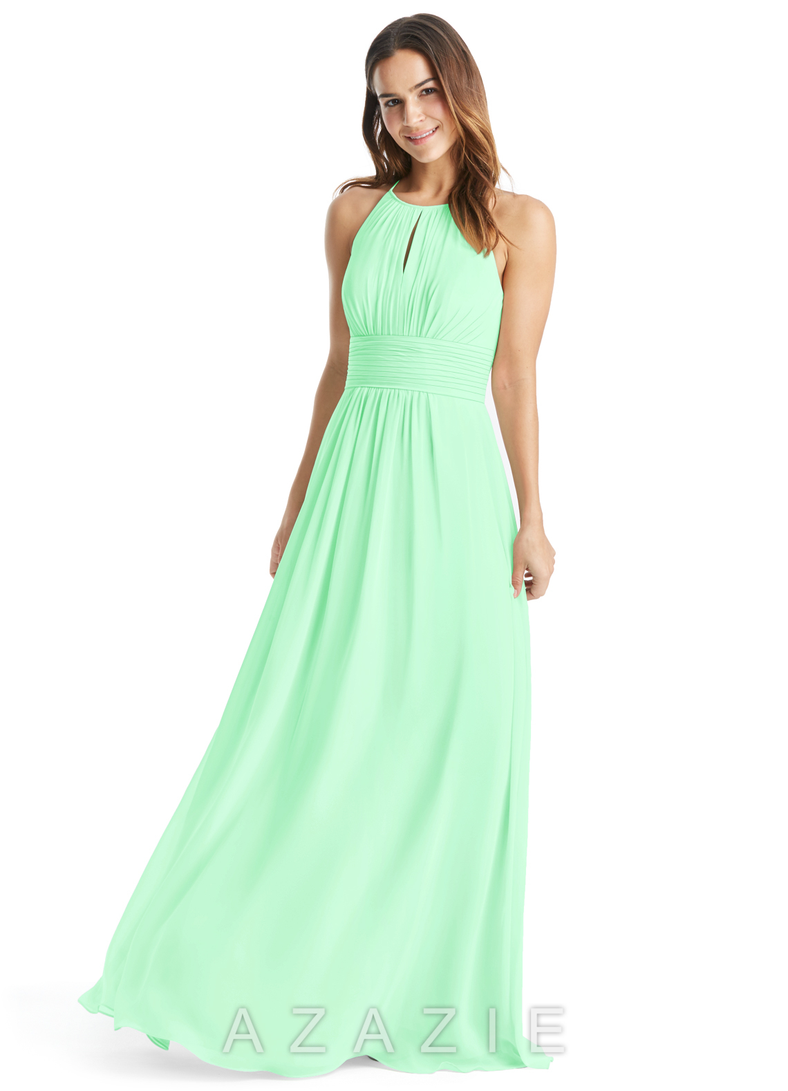 Mint green bridesmaid dresses mint green gowns azazie click to save to your showroom 64 colors ombrellifo Choice Image