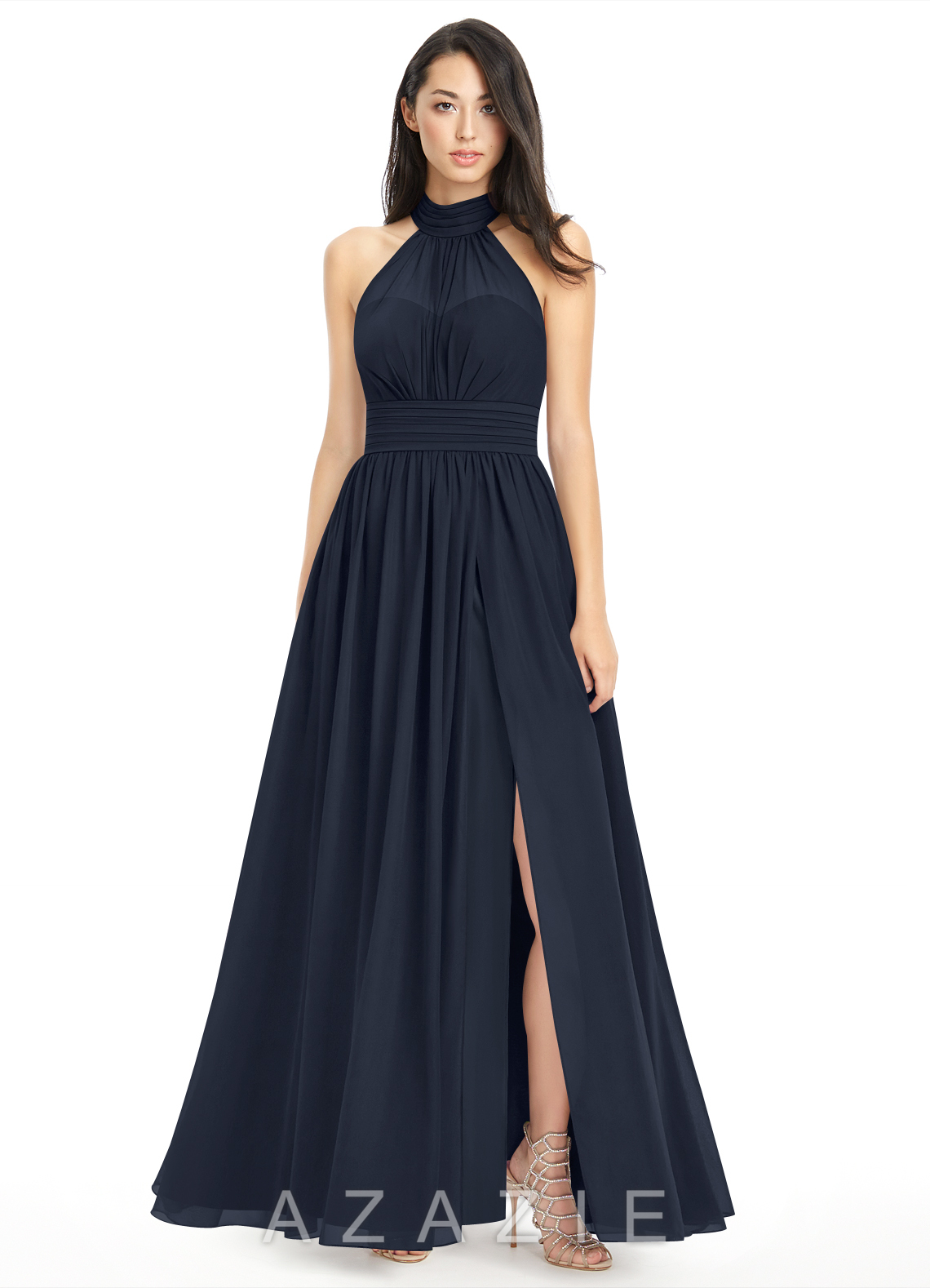 Dark navy bridesmaid dresses dark navy gowns azazie azazie iman azazie iman ombrellifo Choice Image