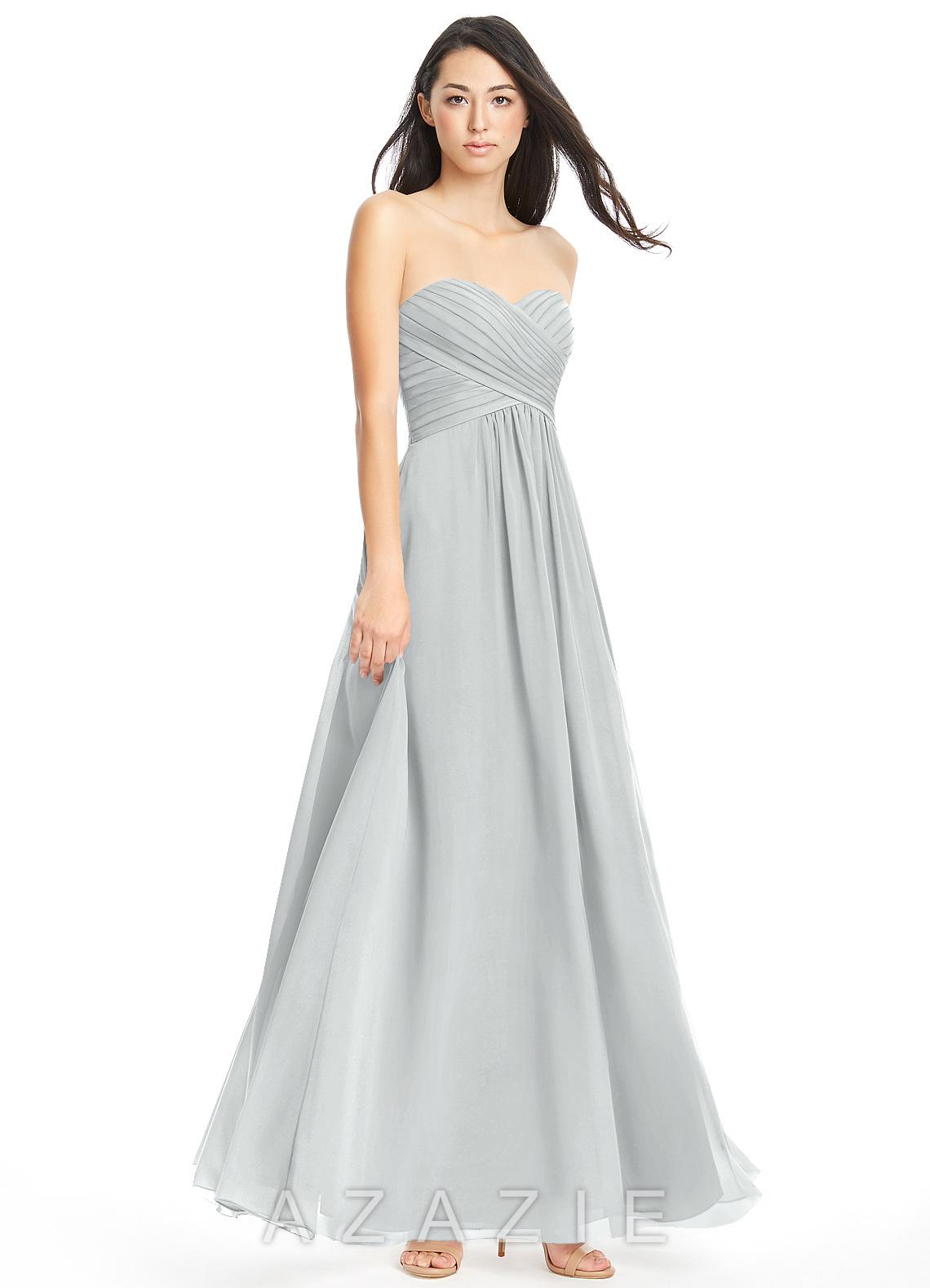 Silver bridesmaid dresses silver gowns azazie azazie yazmin azazie yazmin ombrellifo Image collections