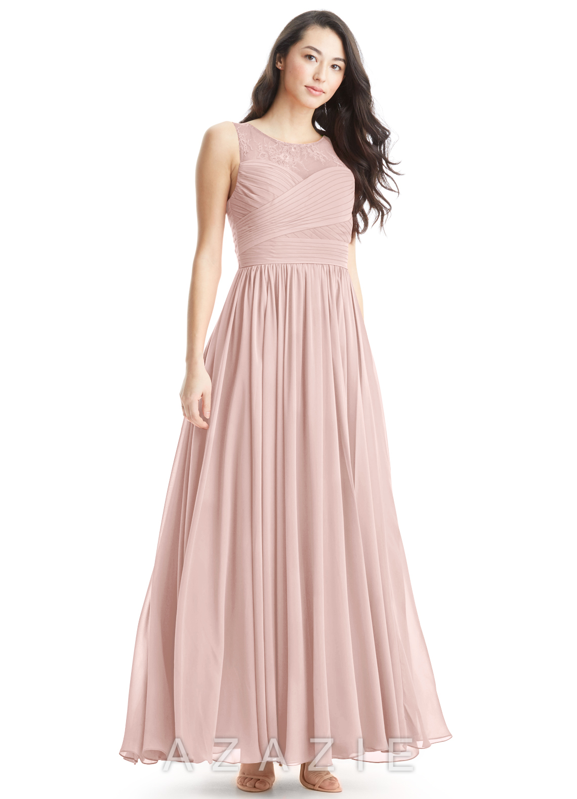 Azazie aliya bridesmaid dress azazie color dusty rose ombrellifo Image collections