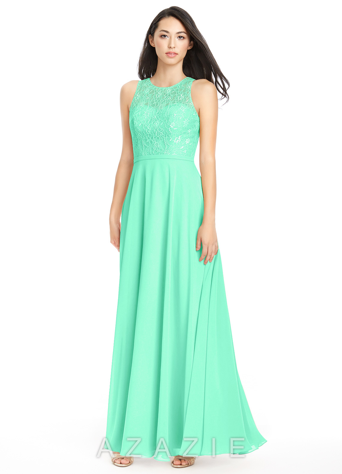 Azazie frederica bridesmaid dress azazie color turquoise ombrellifo Image collections