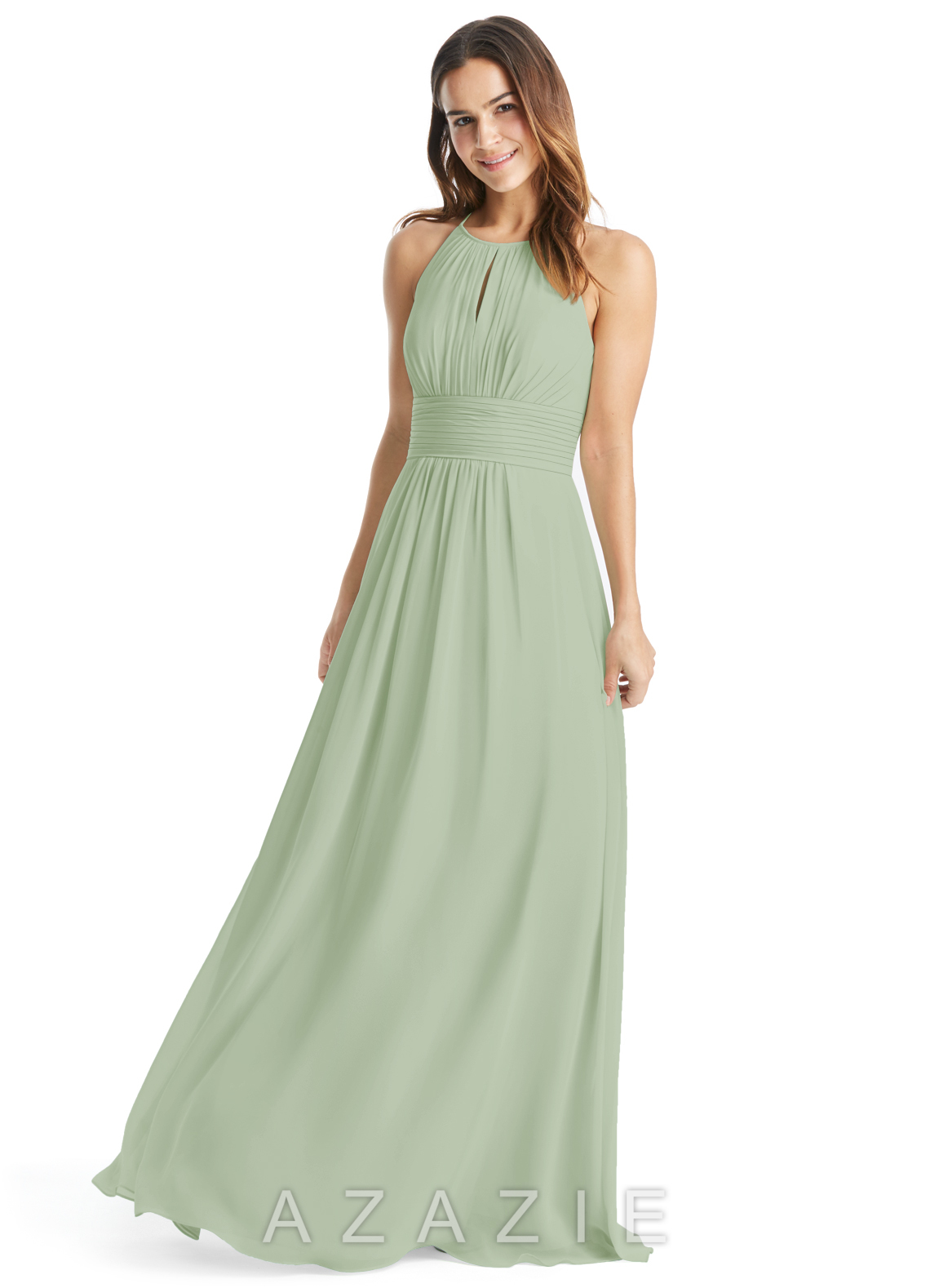 Azazie bonnie bridesmaid dress azazie color dusty sage ombrellifo Gallery