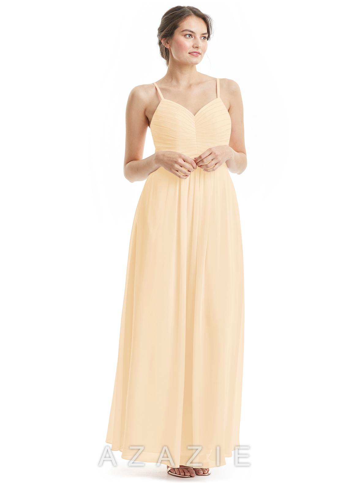 Peach bridesmaid dresses peach gowns azazie azazie paola azazie paola ombrellifo Images