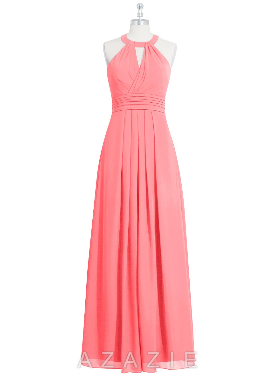 Azazie abbey bridesmaid dress azazie color watermelon ombrellifo Image collections