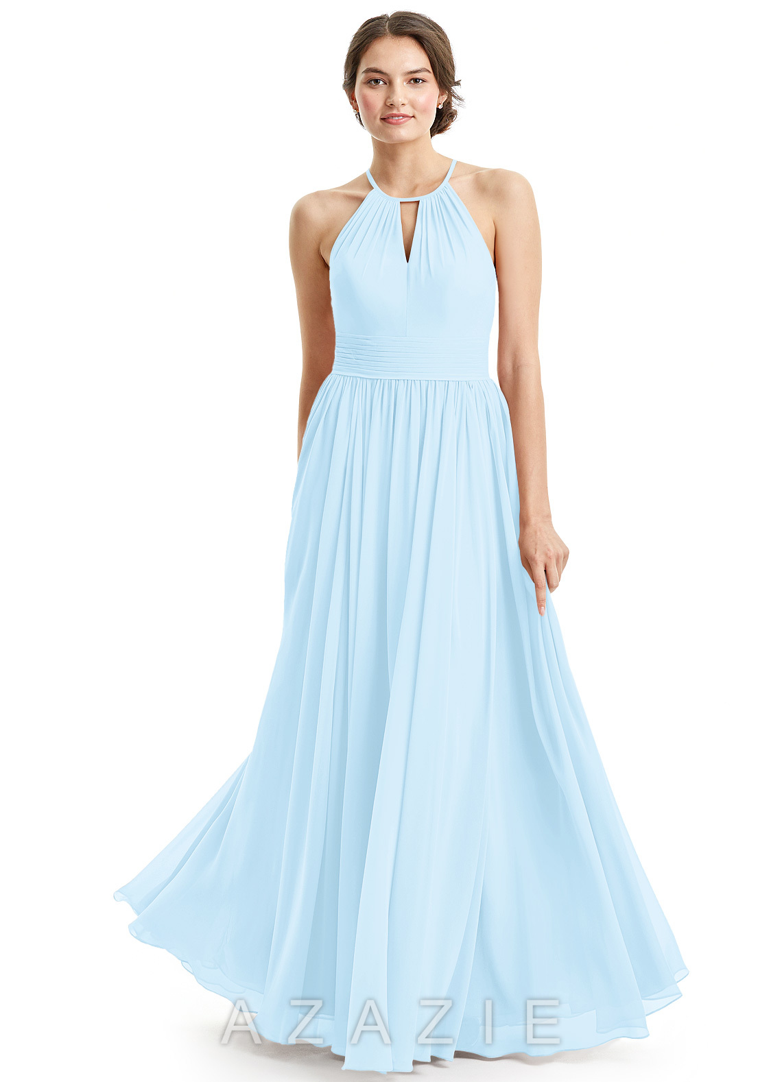 Sky blue bridesmaid dresses sky blue gowns azazie azazie cherish azazie cherish ombrellifo Image collections