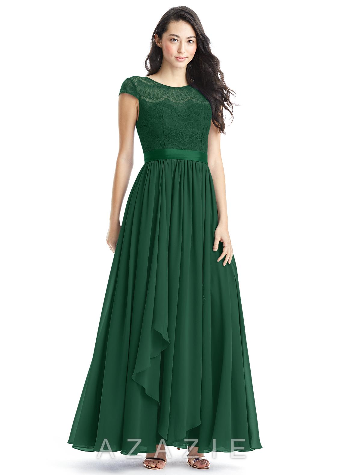 Azazie beatrice bridesmaid dress azazie for Blue green wedding dress