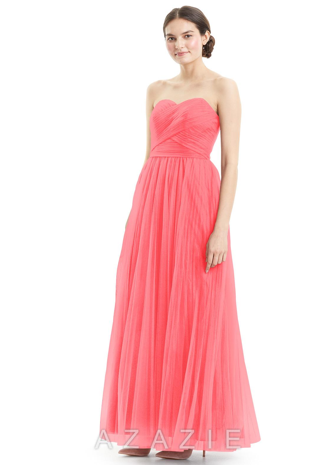 Azazie mavis bridesmaid dress azazie color watermelon ombrellifo Image collections