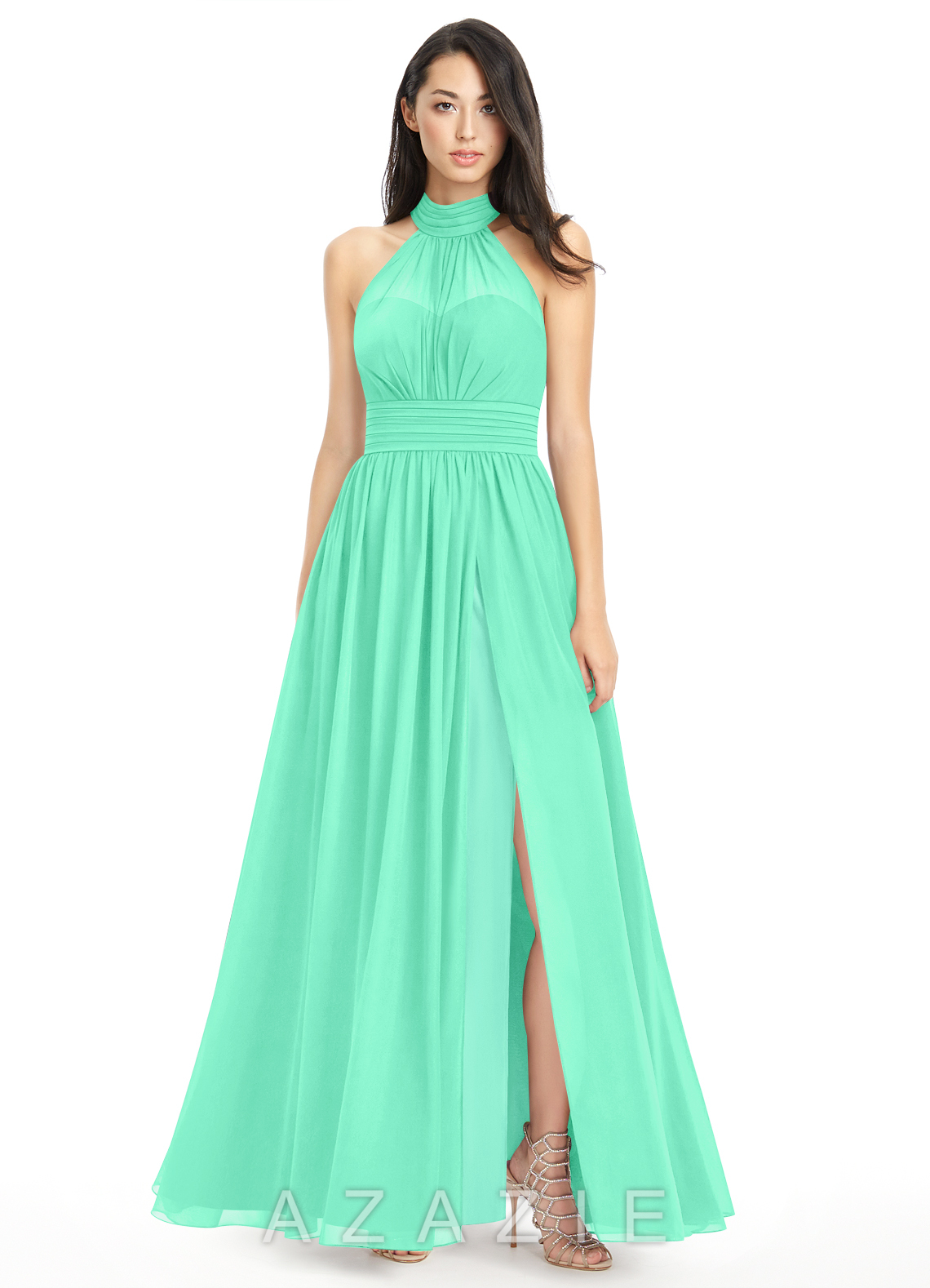 Azazie iman bridesmaid dress azazie color turquoise ombrellifo Image collections