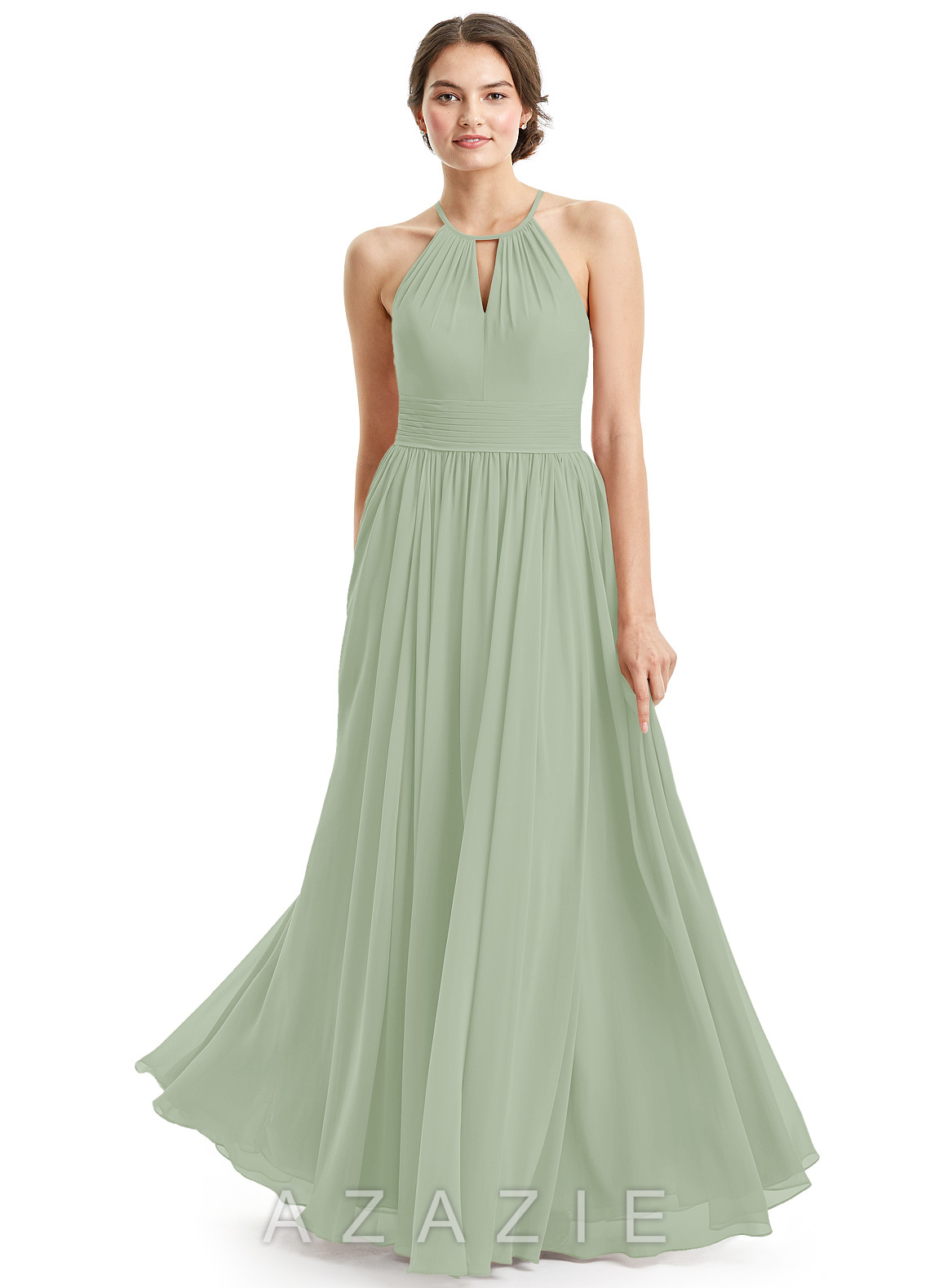 Dusty sage bridesmaid dresses dusty sage gowns azazie azazie cherish azazie cherish ombrellifo Image collections