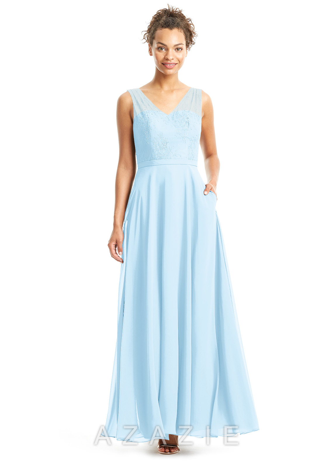 Azazie Eileen Bridesmaid Dress | Azazie - photo #1
