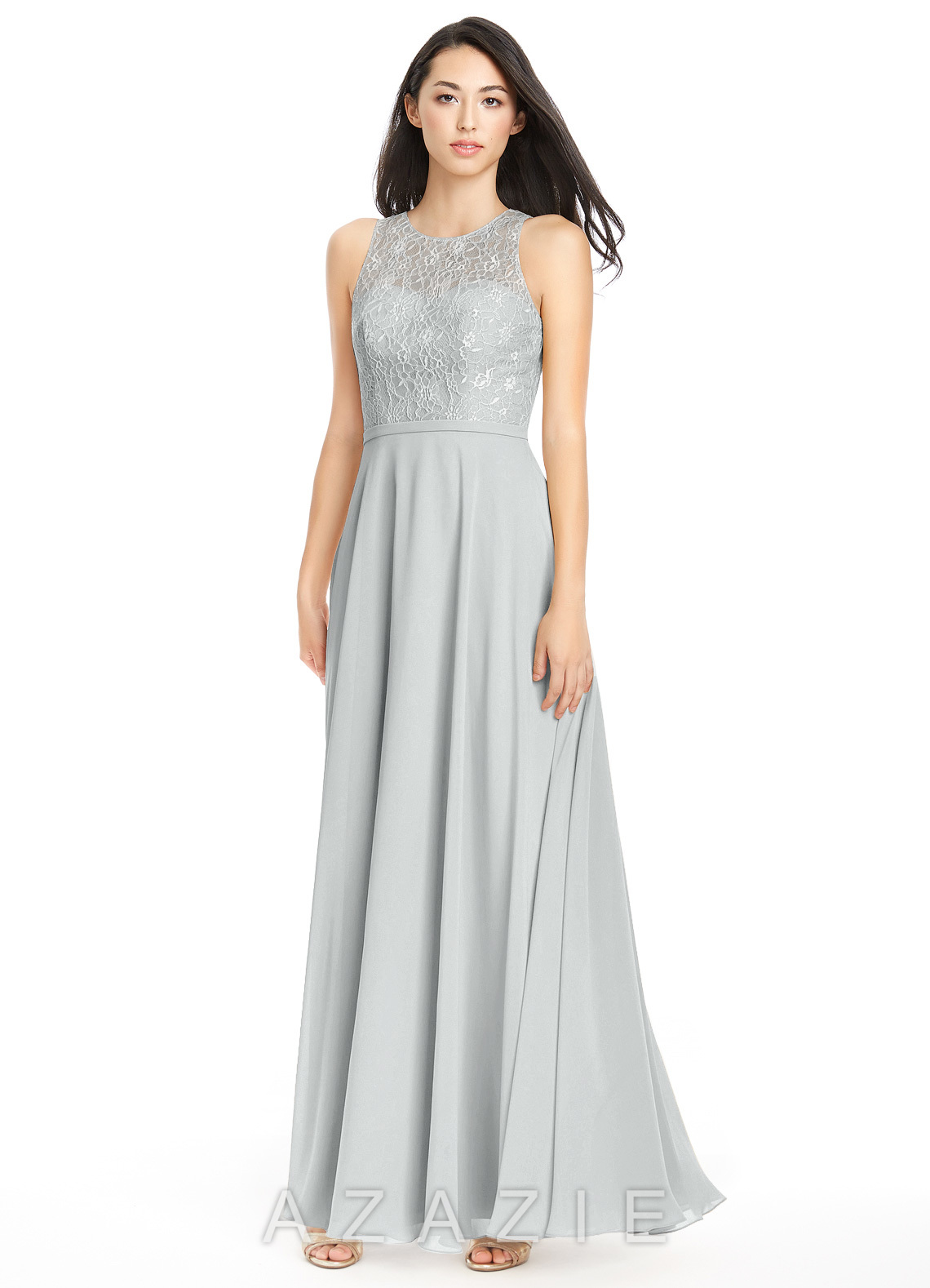 Azazie frederica bridesmaid dress azazie color silver ombrellifo Image collections