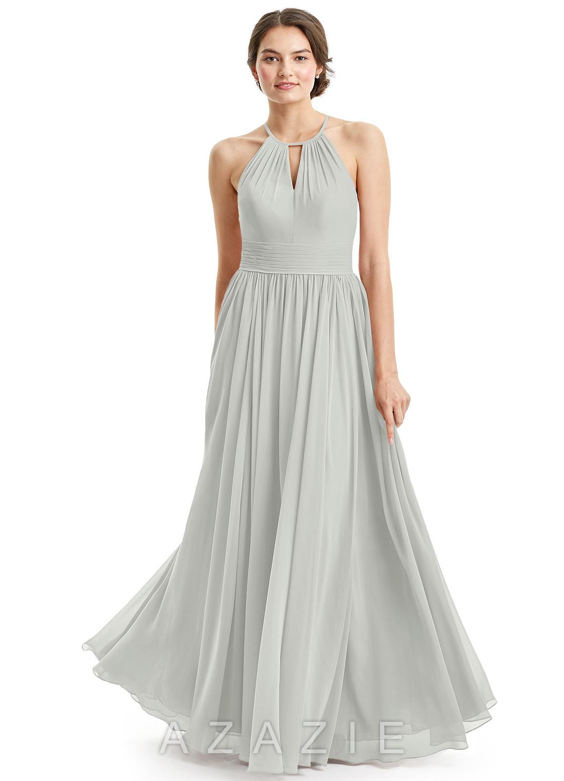 Silver bridesmaid dresses silver gowns azazie azazie cherish azazie cherish ombrellifo Choice Image