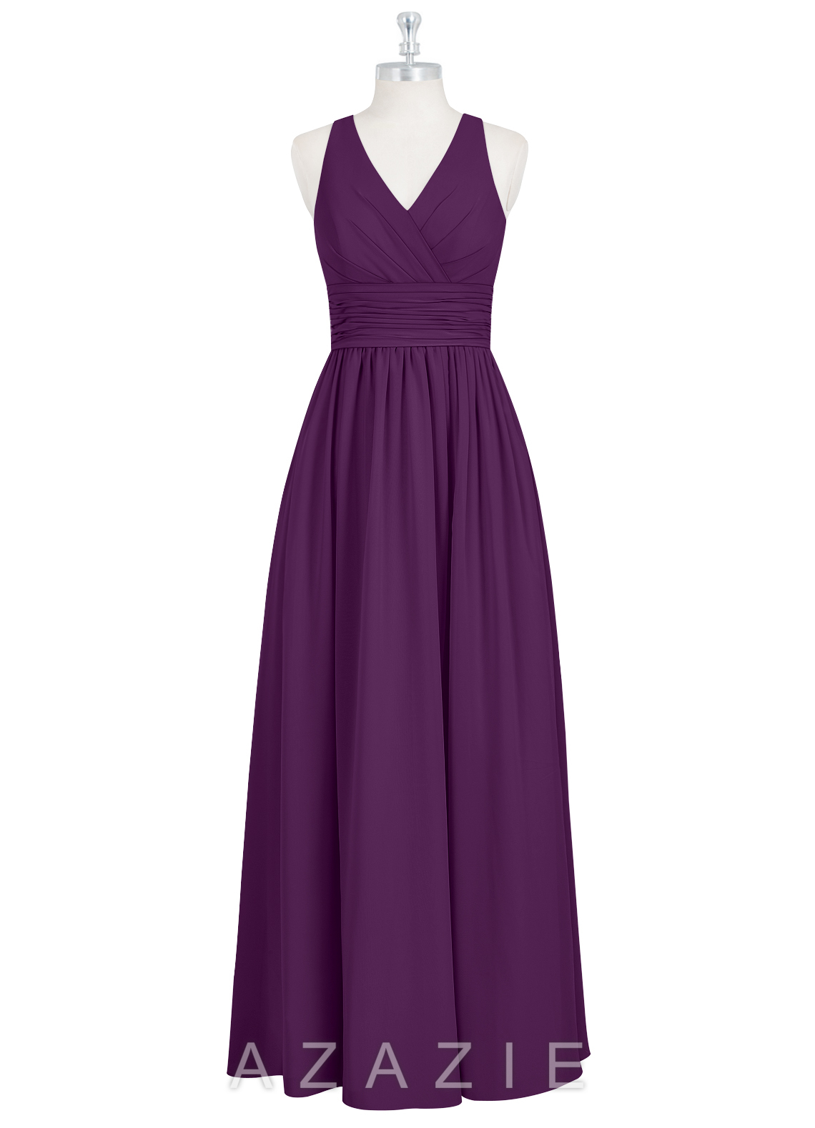 Grape Colored Bridesmaid Dresses | Wedding Gallery