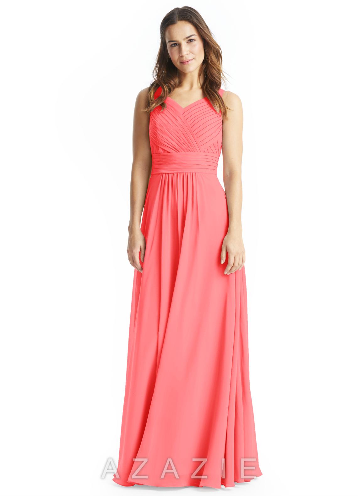 Azazie pierrette bridesmaid dress azazie color watermelon ombrellifo Image collections