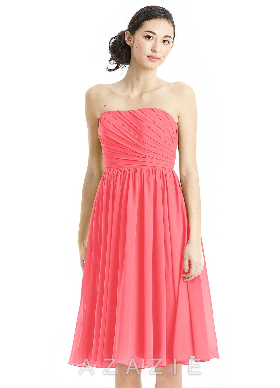 Azazie katie bridesmaid dress azazie color watermelon ombrellifo Image collections
