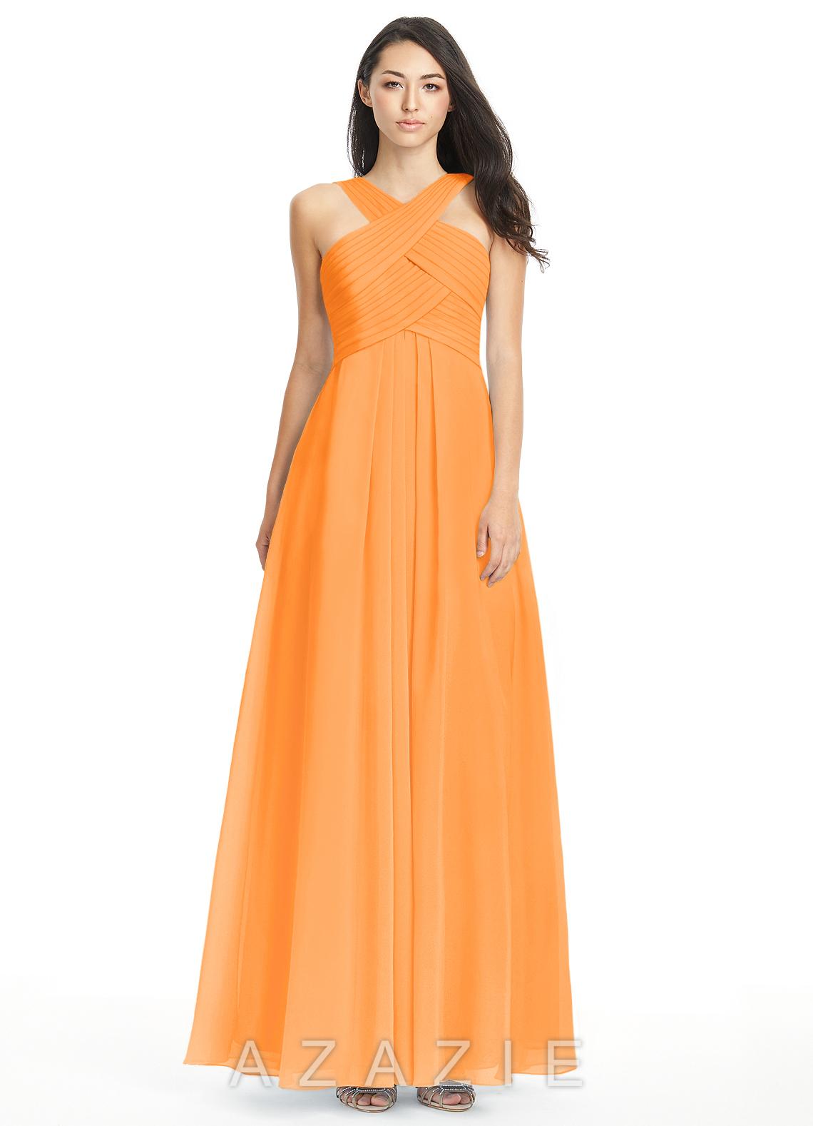 Tangerine bridesmaid dresses tangerine gowns azazie azazie kaleigh azazie kaleigh ombrellifo Images