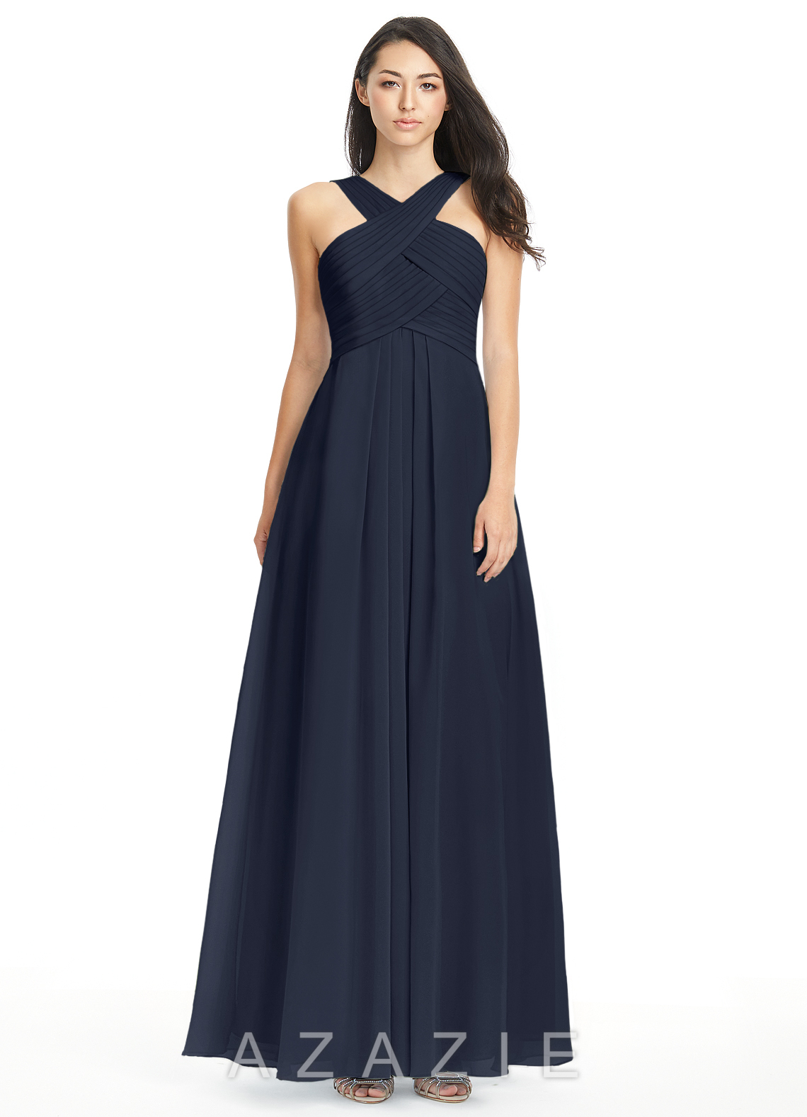 navy blue dress for wedding azazie kaleigh bridesmaid dress azazie 6115