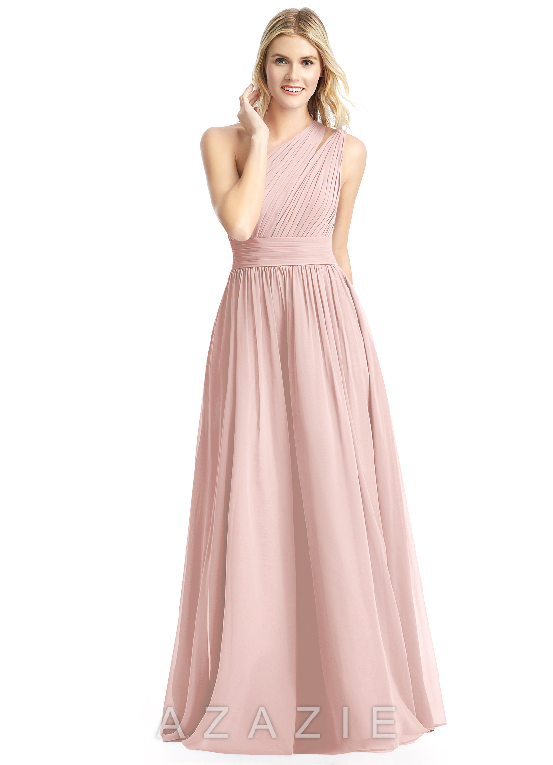 Azazie molly bridesmaid dress azazie color dusty rose ombrellifo Image collections