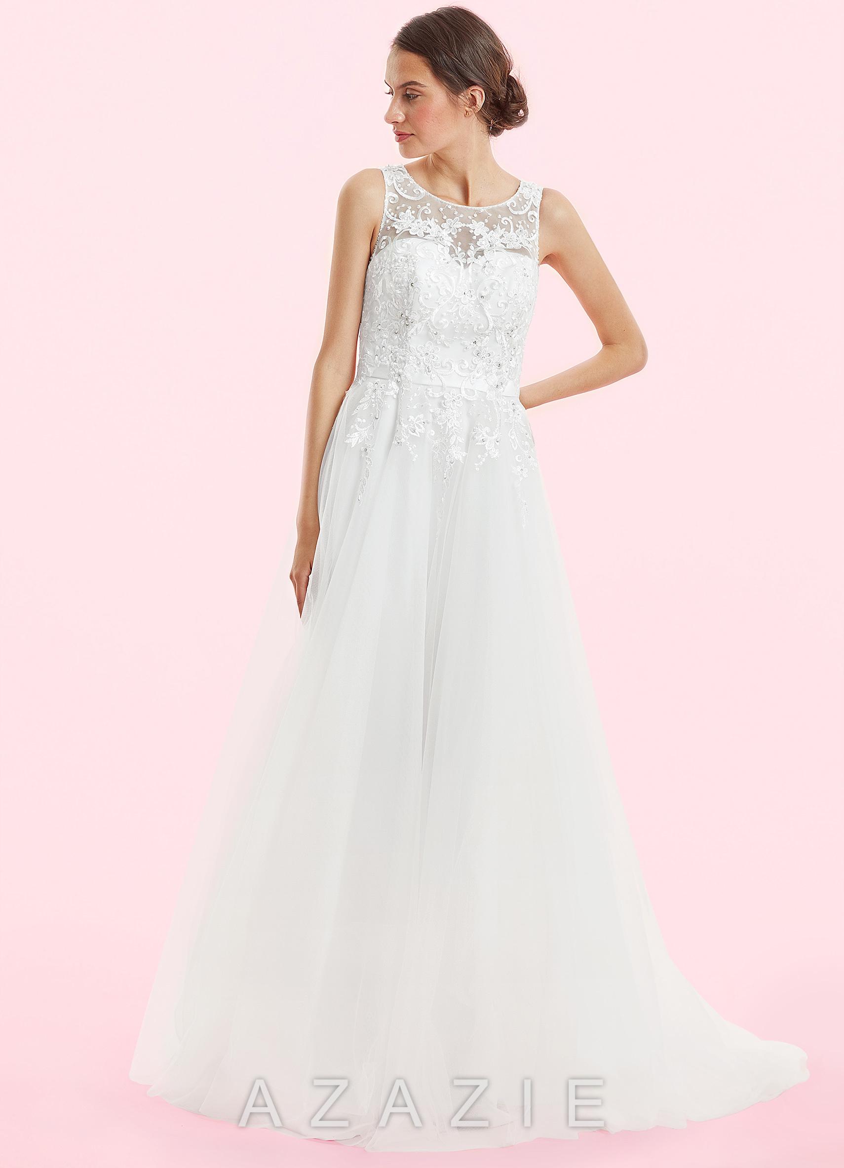 Home Wedding Dresses Azazie Paisley BG Loading Zoom