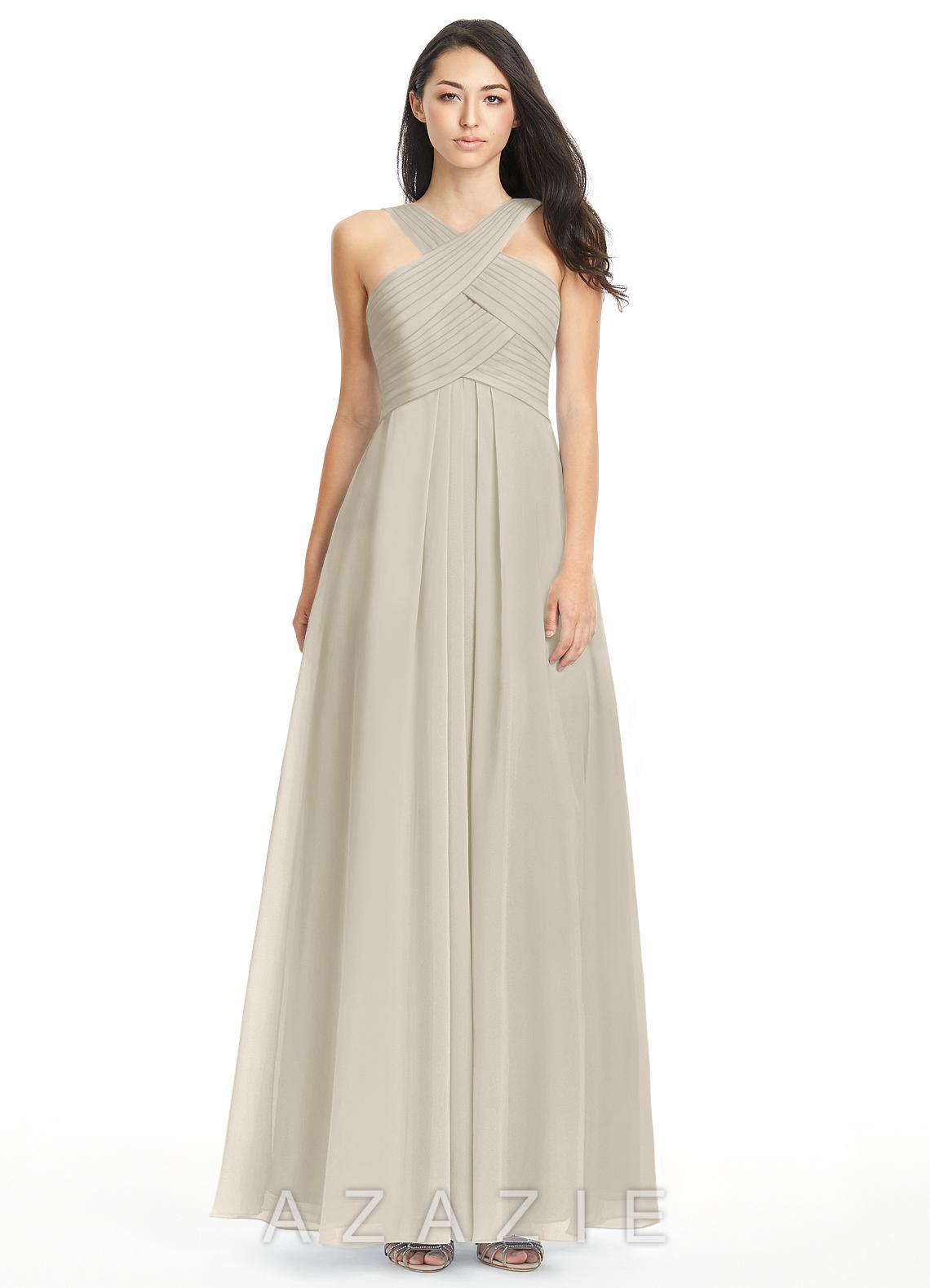 Petal Knee Length One Shoulder Dress