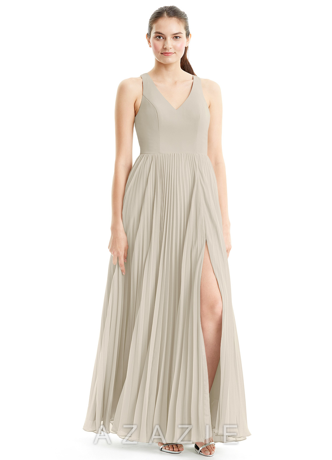 Taupe bridesmaid dresses taupe gowns azazie azazie lindsey azazie lindsey ombrellifo Gallery