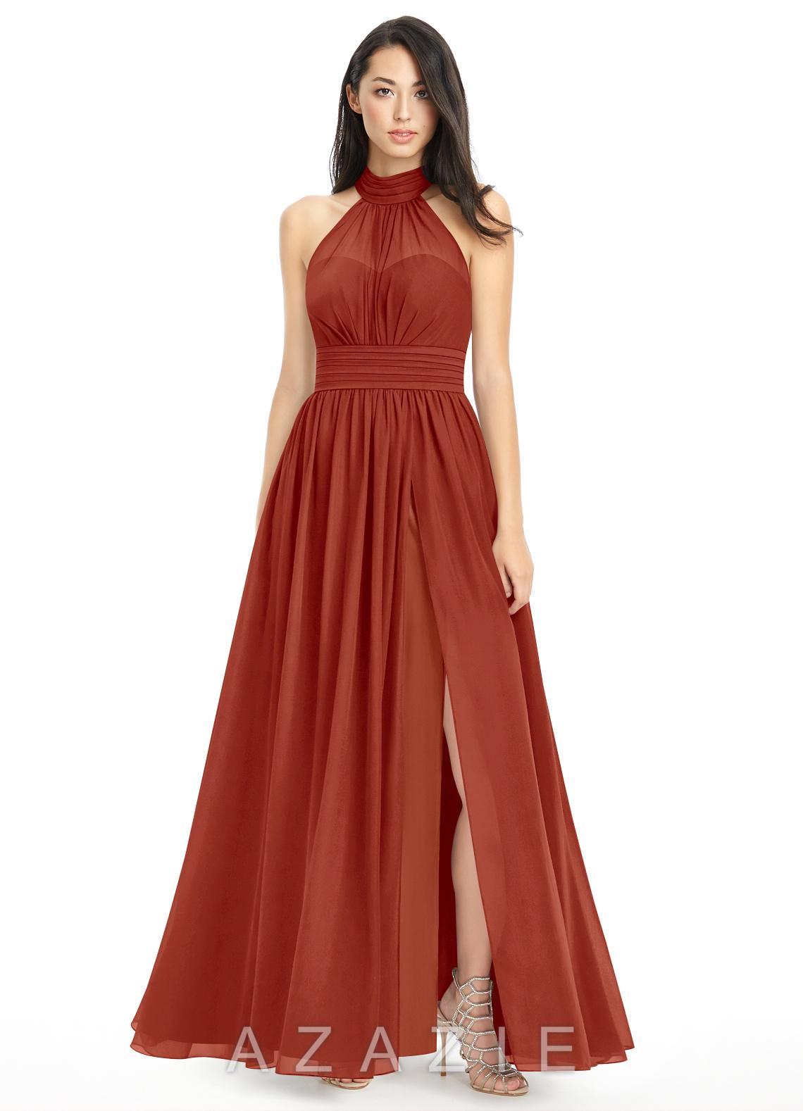 Rust bridesmaid dresses rust gowns azazie azazie iman azazie iman ombrellifo Gallery