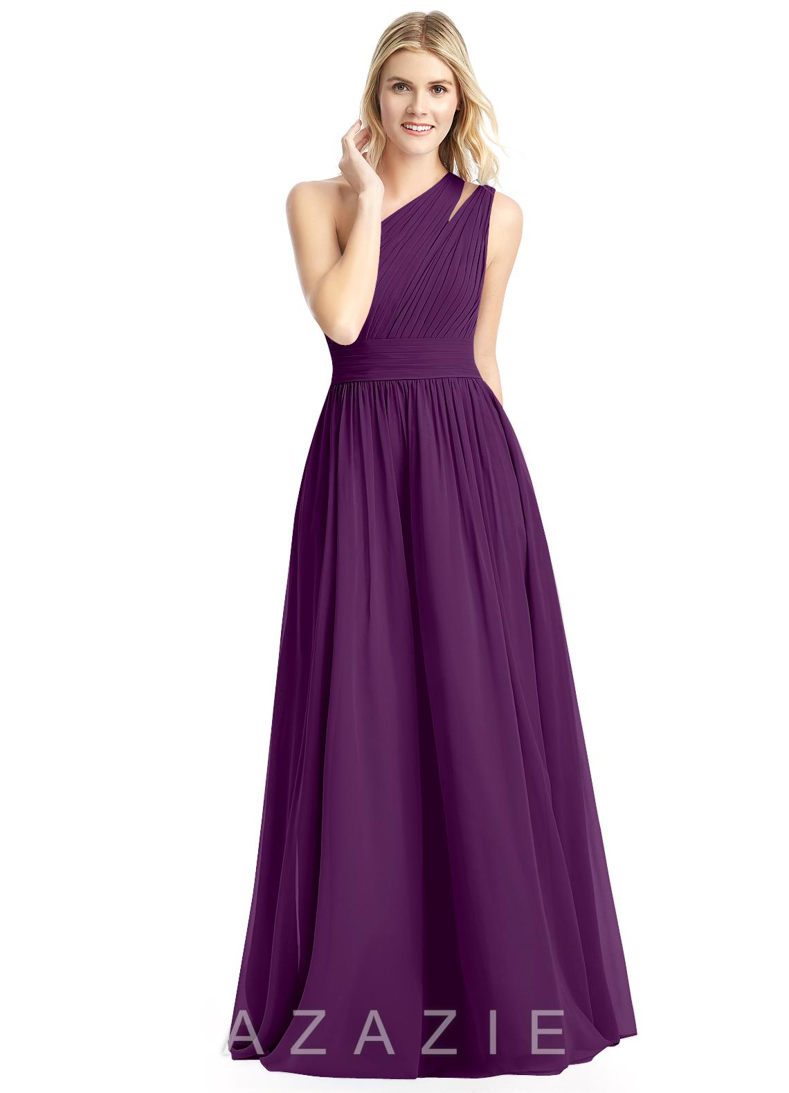 Grape Purple Bridesmaid Dresses
