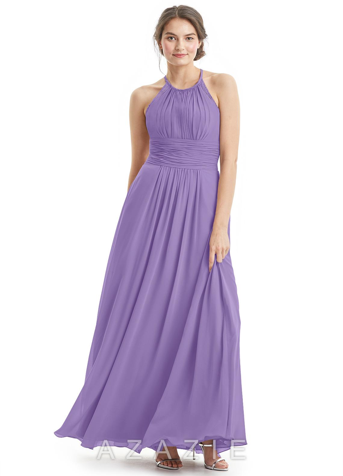Tahiti Blue Bridesmaid Dress