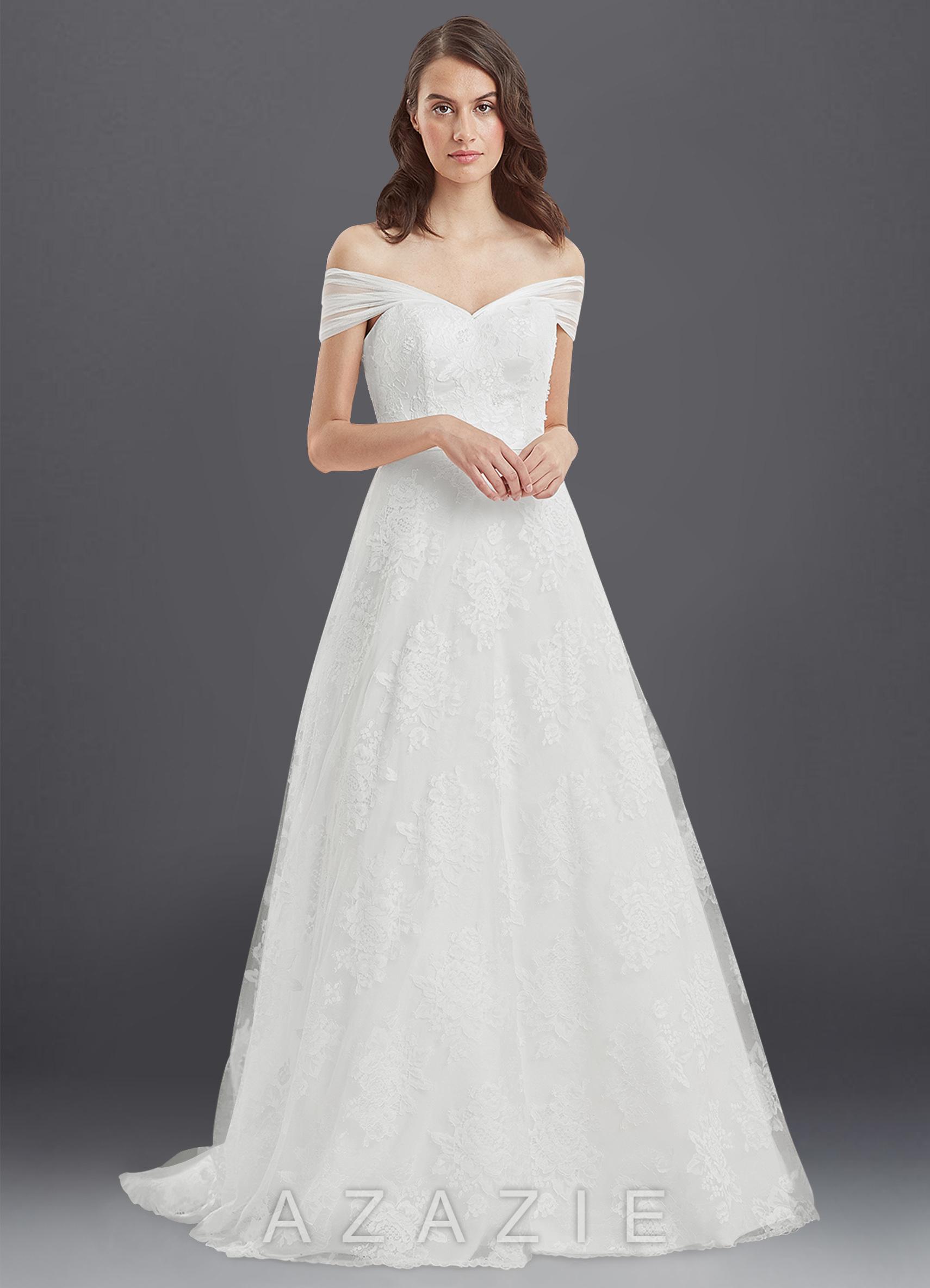 Azazie Jillian BG Wedding Dress | Azazie