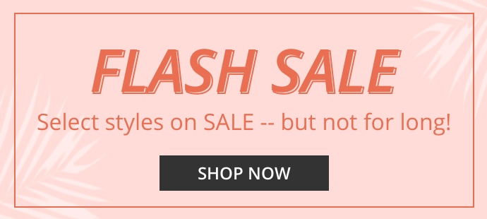 Flash Sale - get the specified item at Rock-bottom price.