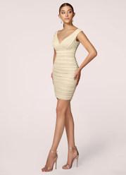 Think Of You White Midi Dress