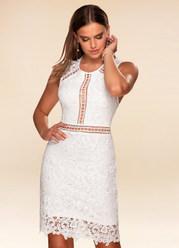 Day Dreamer White Lace Bodycon Dress