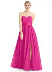 Azazie Yazmin Bridesmaid Dress Fuchsia Azazie