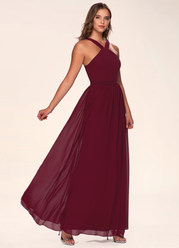 Flawless Burgundy Maxi Dress