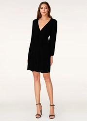 For You Black Mini Dress