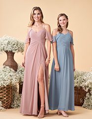 DUSTY COLORED DRESSES