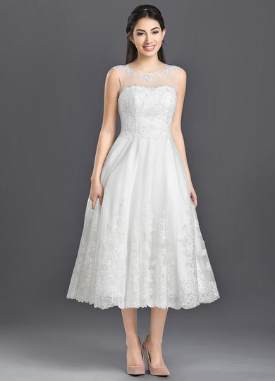 Azazie Claudette Bg Wedding Dress Ivory Azazie