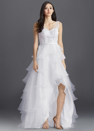 Azazie Azura Bg Wedding Dress Champagne Azazie