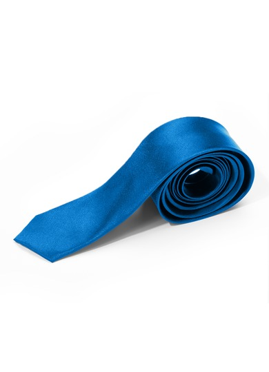 Azazie Charmeuse Skinny Tie