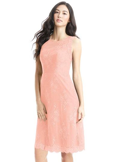 Azazie Zaria Bridesmaid Dress - Coral | Azazie