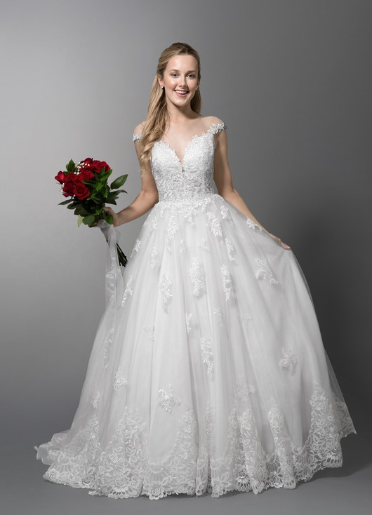 Angelique Bg Sample Dress