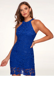 Cosmo {Color} Lace Dress